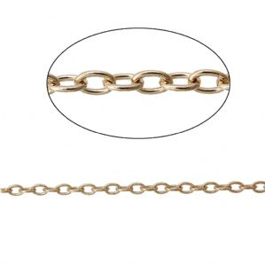 1 Metre of Rose Gold Cable Chain